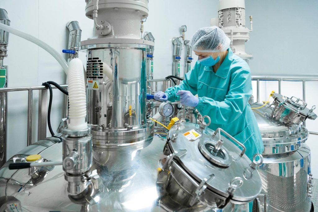 Control de seguridad en industria farmaceutica