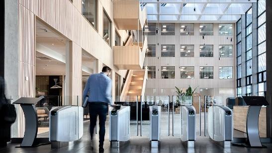 Seguridad en edificios de oficina