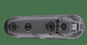 cámara de control de aforo
