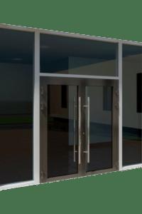puerta de seguridad antibala